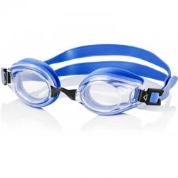 Okulary pływackie korekcyjne LUMINA niebieskie+jasne szkła Aqua Speed