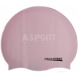 Czepek pływacki z silikonu MONO jasnofioletowy Aqua-Speed
