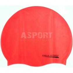 Czepek pływacki z silikonu MONO pamarańczowy Aqua-Speed