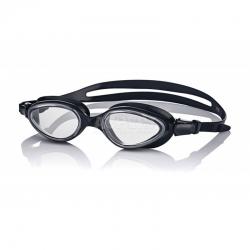 Okulary pływackie SONIC czarny- jasne szkła Aqua-Speed