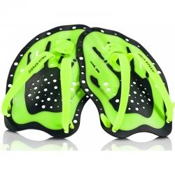 Wiosełka do pływania SWIM PADDLE zielone Aqua Speed