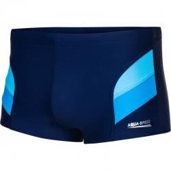 Spodenki pływackie ARON granatowo-niebieskie M-5XL Aqua Speed