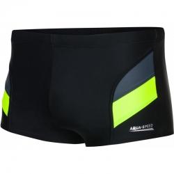Spodenki pływackie ARON czarno-zielone M-5XL Aqua Speed