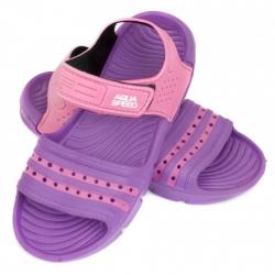 Obuwie basenowe, sandałki NOLI fioletowo-różowe 30-35 Aqua Speed