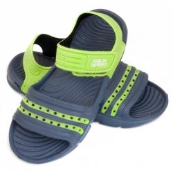 Obuwie basenowe, sandałki NOLI granatowo-zielone 30-35 Aqua Speed