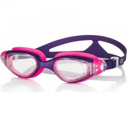 Okulary pływackie dziecięce CETO fioletowo-różowe Aqua-Speed