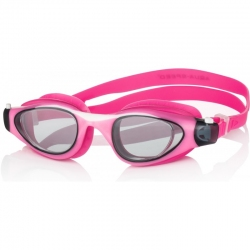 Okulary pływackie MAORI różowo-białe Aqua-Speed