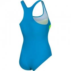 Strój kąpielowy MOLLY niebiesko-zielony 28 Aqua Speed