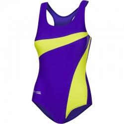Strój kąpielowy MOLLY fioletowo-żółty 99 Aqua Speed