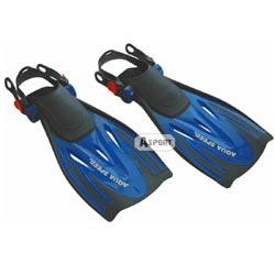 Płetwy WOMBAT granatowe Aqua-Speed