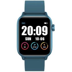Zegarek SMARTWATCH RNCE56 iOS Android  + USB RUBICON Niebieski