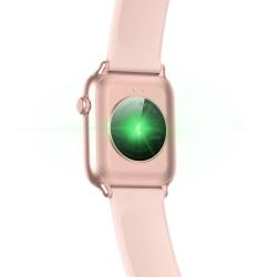 Zegarek damski SMARTWATCH RNCE56 iOS Android  + USB RUBICON Różowy