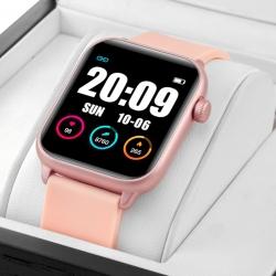 Zegarek damski SMARTWATCH PRO RNCE57 iOS Android  + USB RUBICON Różowy