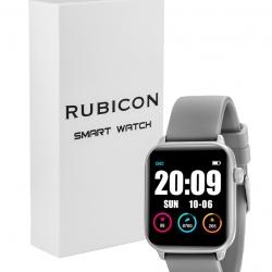 Zegarek SMARTWATCH PRO RNCE57 iOS Android  + USB RUBICON Srebrny