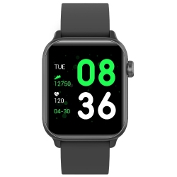 Zegarek SMARTWATCH PRO RNCE57 iOS Android  + USB RUBICON Czarny