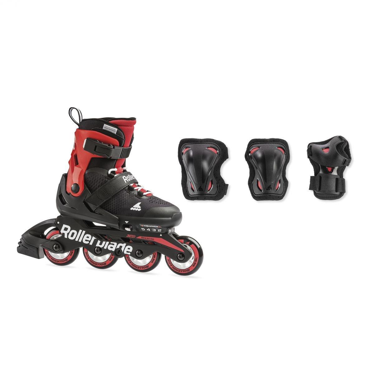 Details Schutzausrüstung Inlineskates SCHONERSET zu für Set Jugendliche Rollerblade Kinder 13TJlFKc