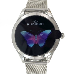 Zegarek SMARTWATCH RNBE37 monitor snu + licznik kalorii RUBICON Srebrny