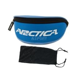 Okulary sportowe, polaryzacyjne, filtr UV400 SOLSTICE S-140B Arctica