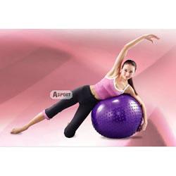 Piłka gimnastyczna, masująca 65cm BB003 Body Sculpture