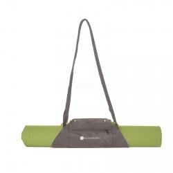 Uchwyt na matę do jogi QB 52 zielono-szary EcoWellness