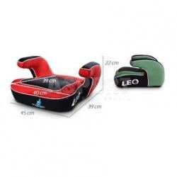 Fotelik samochodowy, dziecięcy, booster, 15-36kg LEO rose Caretero