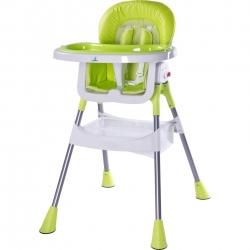 Krzesełko do karmienia POP zielone Caretero
