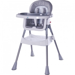 Krzesełko do karmienia POP szare Caretero