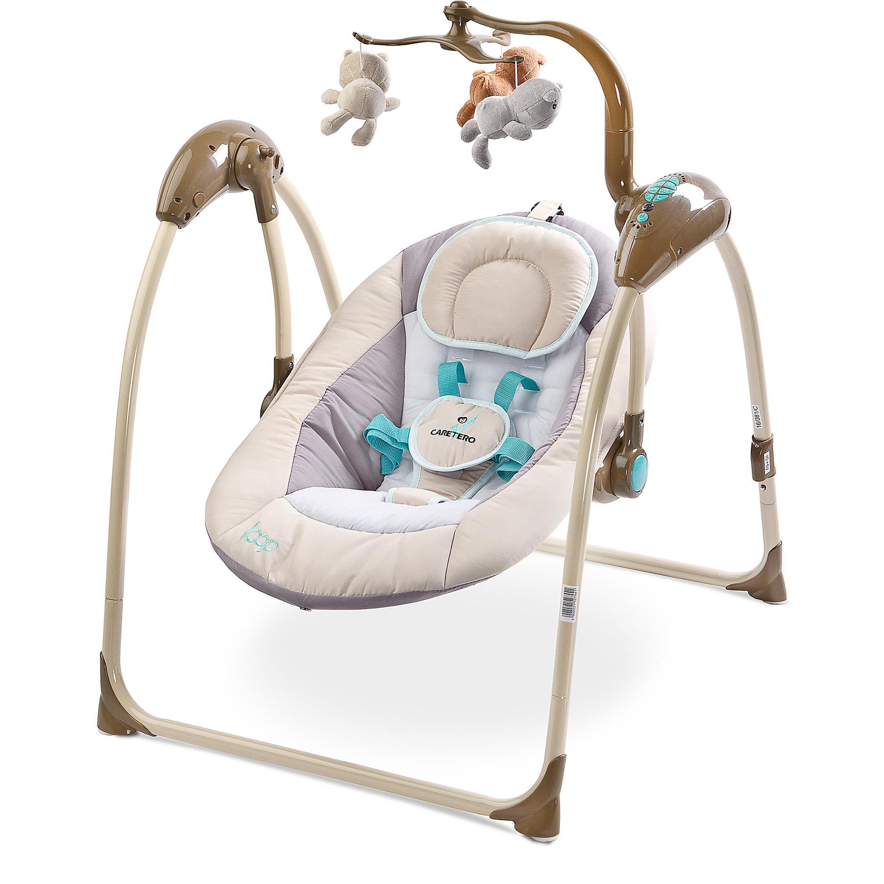 Elektrische Babywippe Babyschaukel Babysitz Wippe Schaukel LOOP ...