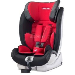 Fotelik samochodowy, ISOFIX + TopTether, 9-36kg VOLANTEFIX czerwony Caretero