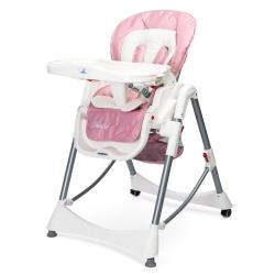 Krzesełko do karmienia BISTRO różowe Caretero