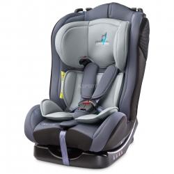 Fotelik samochodowy dziecięcy, regulowany 0-25kg COMBO grafitowy Caretero