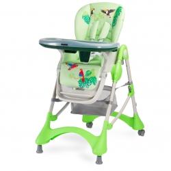 Krzesełko do karmienia MAGNUS NEW zielone Caretero
