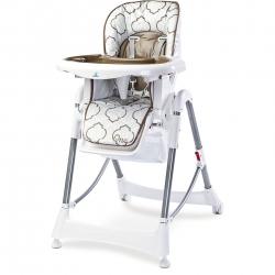 Krzesełko do karmienia ONE brązowe Caretero
