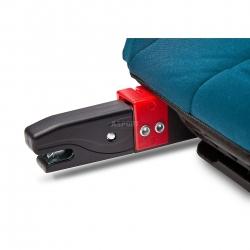 Fotelik samochodowy dziecięcy, booster, poduszka 15-36kg PUMA grafitowy Caretero