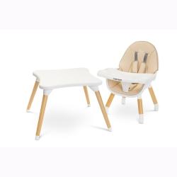 Krzesełko do karmienia Stolik 2 w 1 TUVA beżowe