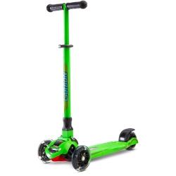 Hulajnoga 3-kołowa CARBON zielona Toyz
