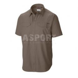 Koszula męska, szybkoschnąca, filtr UPF 30, krótki rękaw Columbia