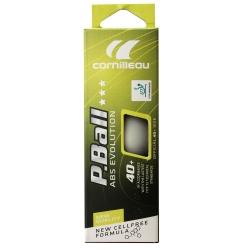 Piłeczki do tenisa stołowego P-BALL ITTF 3szt. białe Cornilleau