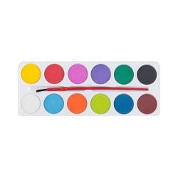 Farby akwarelowe 12 kolorów Easy