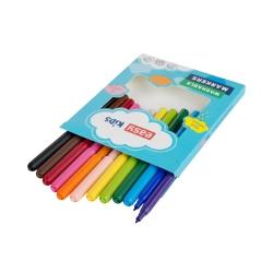 Pisaki spieralne 12 kolorów EASY