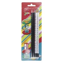 Ołówek trójkątny 4szt ZESTAW Easy