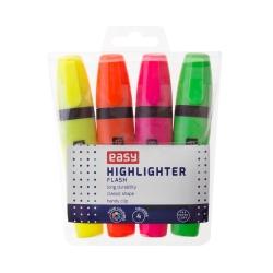 Zakreślacz 4 kolory 4 mm Easy Flash