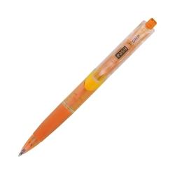 Długopis automatyczny żółty z wkładem niebieskim 0,7 mm Easy