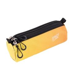 Piórnik szkolny 3 zamki Easy Color żółty