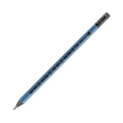 Ołówek jumbo trójkątny z gumką granatowy HB Easy