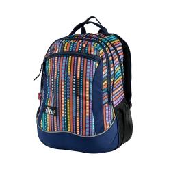 Plecak szkolny FLOW 26l granatowy+kolor Easy
