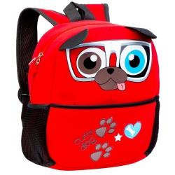 Plecak przedszkolny Easy Pies czerwony