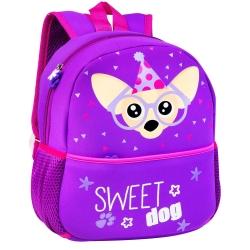 Plecak przedszkolny Easy Pies fioletowy