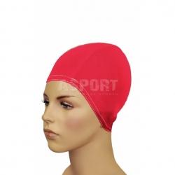Czepek z lycry, na długie włosy BATHING CAP FOR LONG HAIR czerwony Gwinner