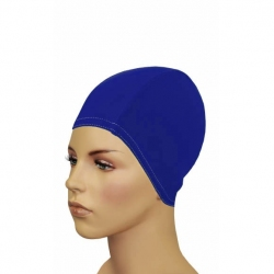 Czepek z lycry,długie włosy BATHING CAP FOR LONG HAIR ciemnoniebieski Gwinner